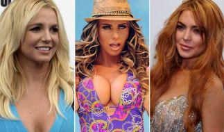 Britney Spears, Katie Price und Lindsay Lohan: Sie alle haben eine lange Liste an Verflossenen. (Foto)