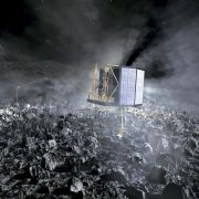 Mini-Labor landet sicher auf Komet «Tschuri» (Foto)