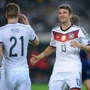 Glanzloser Sieg! DFB-Team enttäuscht gegen Fußballzwerg (Foto)