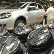 Volkswagen liegt auf Rekordkurs (Foto)