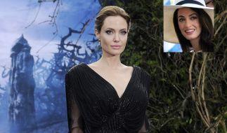 Hassen sich Angelina Jolie und Amal Clooney? (Foto)