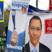 Stichwahl um das Präsidentenamt in Rumänien hat begonnen (Foto)