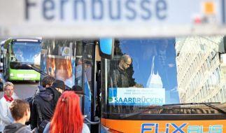 In Zeiten des Bahnstreiks immer beliebter: Fernbusse. (Foto)