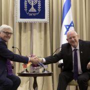 Steinmeier warnt vor einseitigen Schritten in Nahost (Foto)