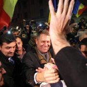 Deutschstämmiger gewinnt Präsidentenwahl in Rumänien (Foto)