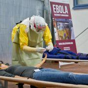 Ebola-Training für deutsches Klinikpersonal startet in Würzburg (Foto)