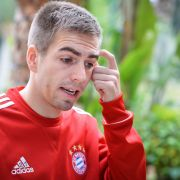 Bruch am Sprunggelenk - Lahm bricht Training ab (Foto)