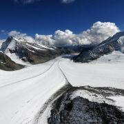 Schweizer Gletscher sind stark geschrumpft (Foto)