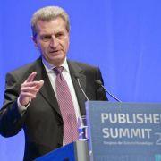 Oettinger: Provider-Wechsel Teil des Wettbewerbs (Foto)