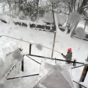 Angst in Buffalo: Auf den Schnee könnte Regen folgen (Foto)