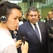 Gabriel will mehr asiatische Investoren nach Deutschland holen (Foto)