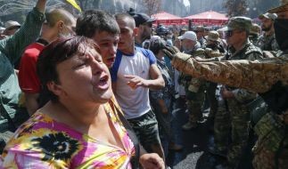 Ukraine erinnert an Beginn der Maidan-Proteste (Foto)