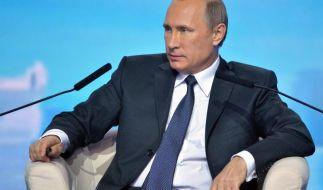 Putin wirft Westen Heuchelei vor (Foto)