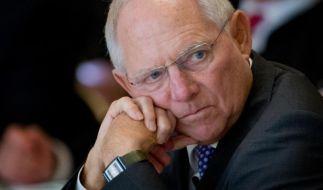 Schäuble: Steuerflucht der Konzerne gefährdet Zusammenhalt (Foto)