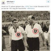 Deutscher Fußballbund twittert Hakenkreuze (Foto)