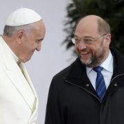 Papst fordert Europäer dringend zu Hilfe für Flüchtlinge auf (Foto)