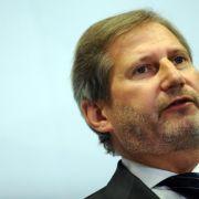 EU-Kommissar Hahn besucht krisengeschüttelte Ukraine (Foto)