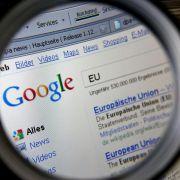 EU-Parlament will Google aufspalten lassen (Foto)