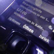 Kein Termin für billigeres Handy-Telefonieren in Europa (Foto)
