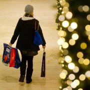 Verbraucherlaune verbessert sich pünktlich zu Weihnachten (Foto)
