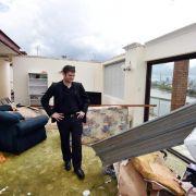 Schwerer Sturm wütet im australischen Brisbane (Foto)