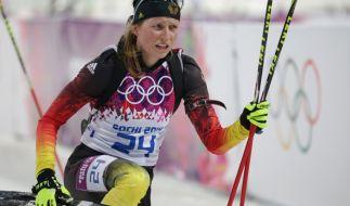 Franziska Hildebrand gehört zur Mixed-Staffel der deutschen Biathleten. (Foto)