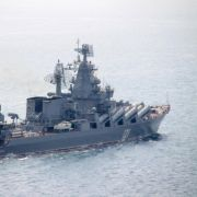 Russische Kriegsschiffe halten Manöver im Ärmelkanal ab (Foto)
