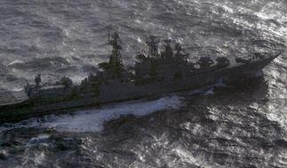Russland setzt Raketentests und Marine-Übung fort (Foto)