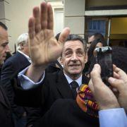 Sarkozy gewinnt Wahl zum Parteichef (Foto)