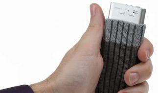 Blaugefrorene Finger im Winter gehören mit dem USB-Handwärmer der Vergangenheit an. (Foto)