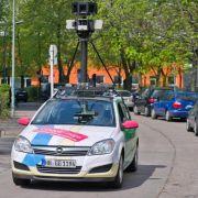 Google fährt erneut mit Kamerawagen durch deutsche Städte (Foto)