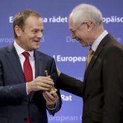 Neuer EU-Ratschef Tusk sorgt sich um Freihandelsabkommen (Foto)