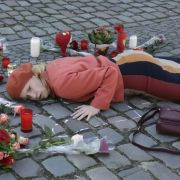 Sophie Haas wird zur Sankt-Martins-Leiche (Foto)