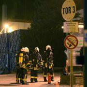Ursachensuche nach Explosion in Chemiefabrik (Foto)