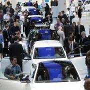 Deutsche Autoindustrie will 2015 mehr als 15 Millionen Wagen bauen (Foto)