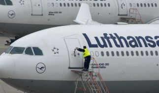 Lufthansa hält trotz Streik an Umbauplänen fest (Foto)