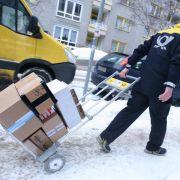Verdi rechnet mit Stau bei Paketzustellungen der Post (Foto)