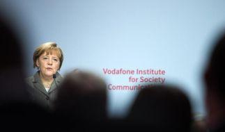 Merkel plädiert für «Spezialdienste» im Internet (Foto)