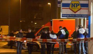 Räuber erschießt Mann bei Supermarkt-Überfall in Hannover. (Foto)