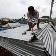 Taifun «Hagupit»: Tausende auf der Flucht (Foto)