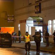 Polizei sucht mit Hunden nach Supermarkt-Schützen (Foto)