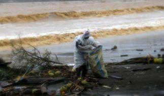 Schwere Verwüstung durch Taifun «Hagupit» (Foto)