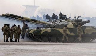 Heftige Kämpfe in der Ostukraine (Foto)