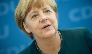 Bundeskanzlerin Merkel verteidigt Russland-Kurs (Foto)