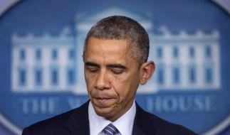 Auch Präsident Obama hatte schon unter Rassismus zu leiden. (Foto)