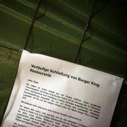 Landgericht München verhandelt über Streit bei Burger King (Foto)