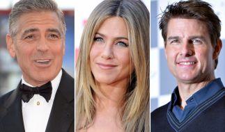 Ob George Clooney, Jennifer Aniston oder Tom Cruise: Sie alle hatten vor ihrer Berühmtheit ziemlich bodenständige Jobs. (Foto)