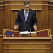 Griechisches Rettungsprogramm wird um zwei Monate verlängert (Foto)