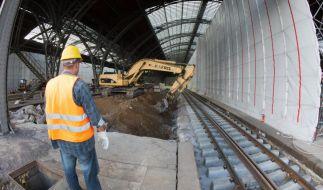 Bahn-Baustellen bringen 2015 längere Fahrtzeiten (Foto)