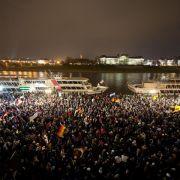 Politiker besorgt über Anti-Islam-Bewegung «Pegida» (Foto)